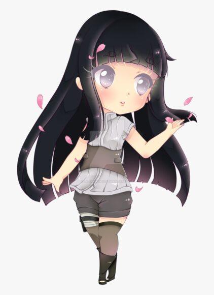 Hình ảnh Hinata đẹp chibi dễ thương