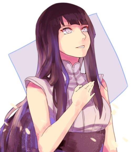 Hình ảnh Hinata đẹp suy tư