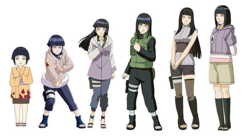 Hình ảnh Hinata đẹp trưởng thành