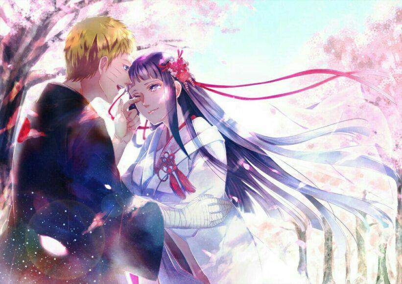 Hình ảnh Hinata đẹp và Naruto