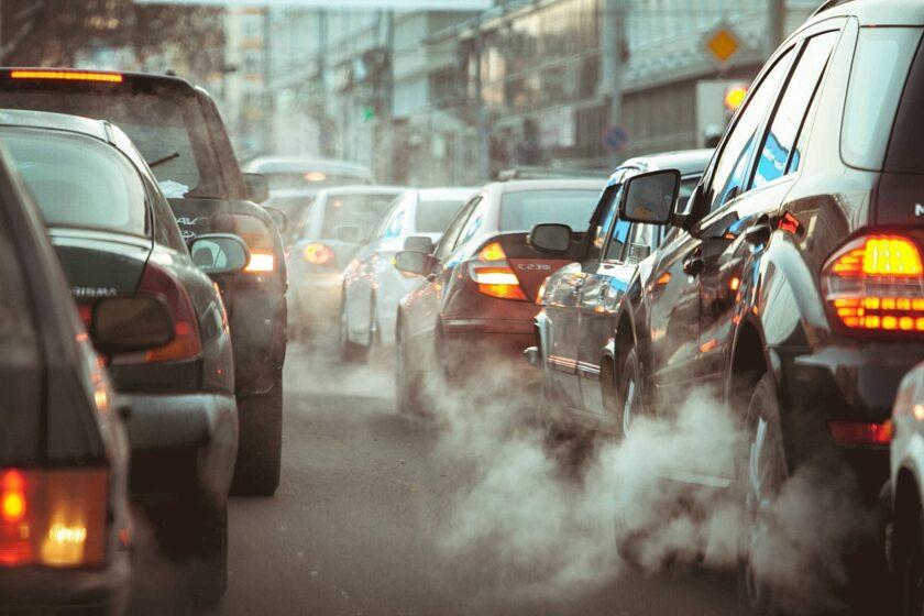Hình ảnh khói bụi ô tô