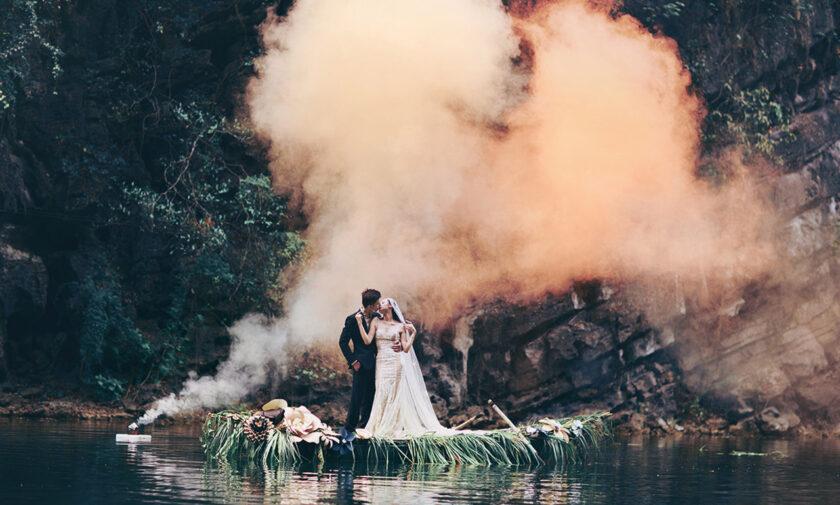 Hình ảnh khói ma mị đẹp mê hồn