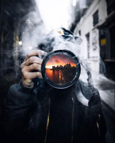 Hình ảnh khói nghệ thuật