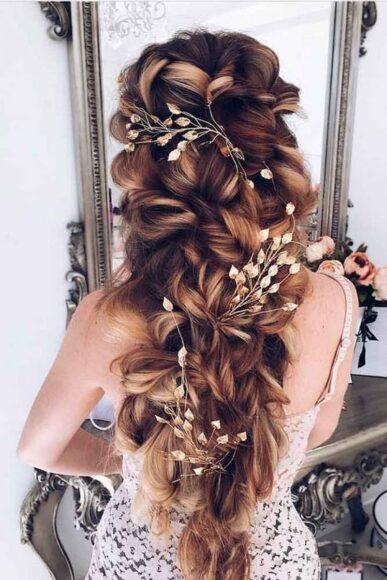 hình ảnh kiểu tóc cho cô dâu