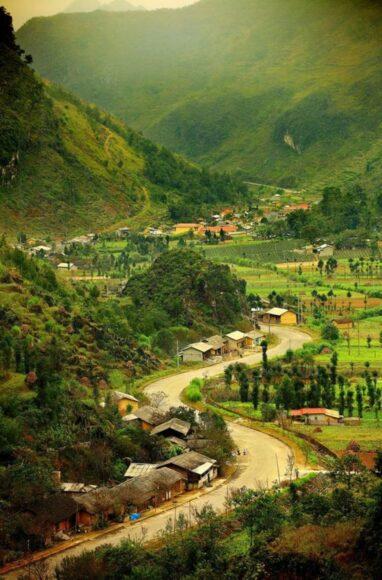 hình ảnh làng quê việt nam vùng miền núi phía bắc