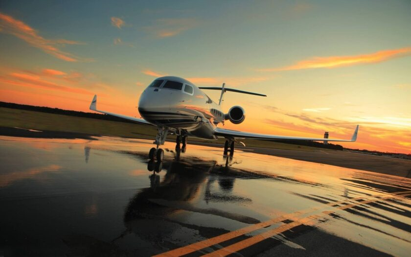 Hình ảnh máy bay hạng sang của cá nhân