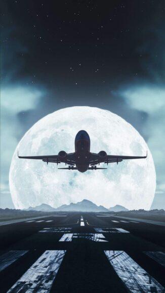 Hình ảnh máy bay siêu đẹp làm nền điện thoại