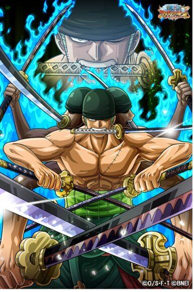 Hình ảnh one piece sức mạnh của zoro