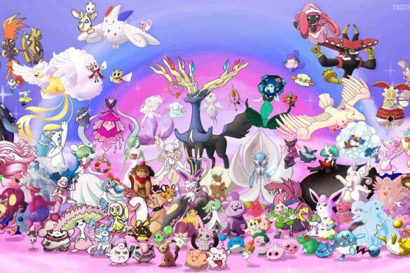 hình ảnh pokemon xy đẹp cute nhất