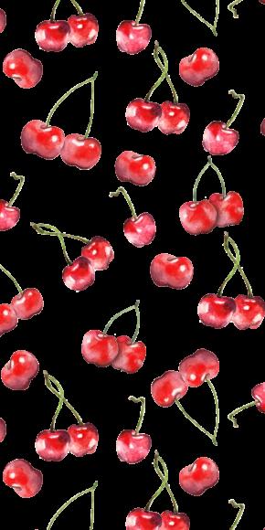 Hình ảnh quả cherry làm nền điện thoại