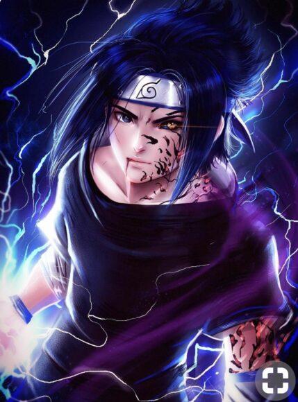 Hình ảnh Sasuke 3D đẹp nhất