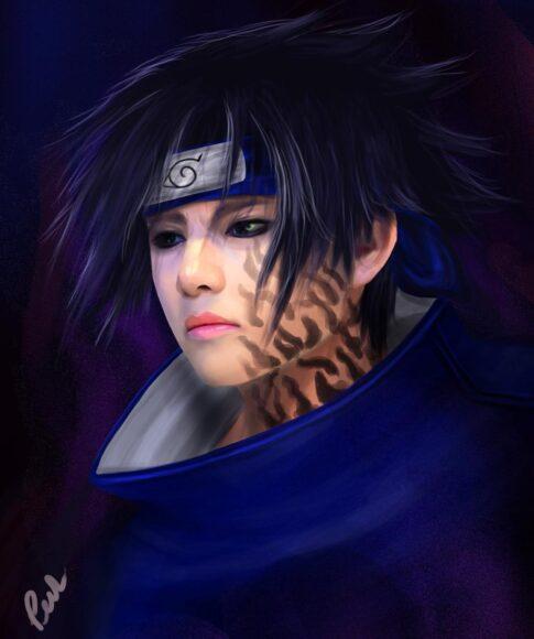 Hình ảnh Sasuke cosplay đỉnh nhất