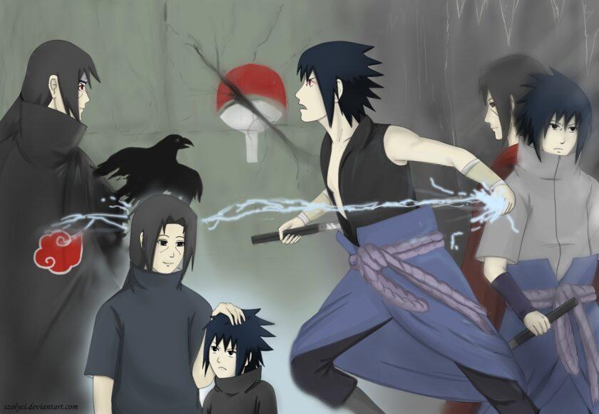 Hình ảnh Sasuke đa phong cách nhất