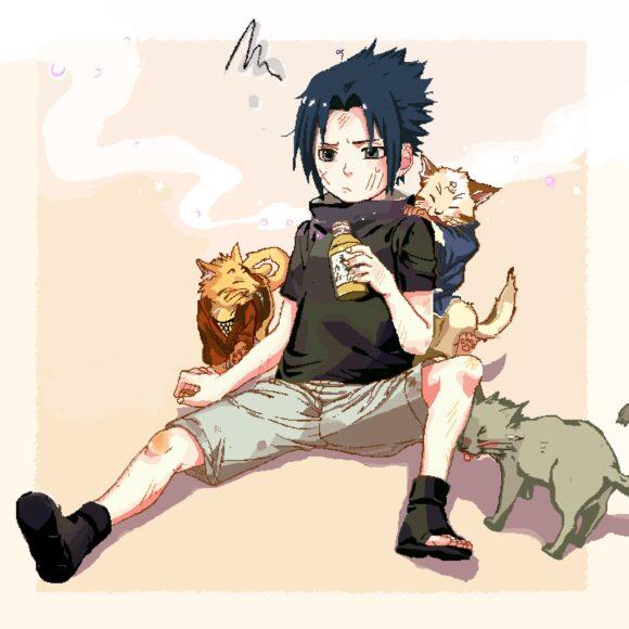 Hình ảnh Sasuke dễ thương đáng yêu nhất