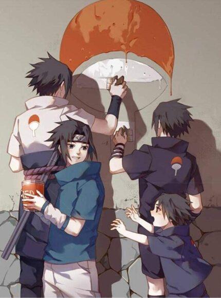Hình ảnh Sasuke đẹp trai nhất