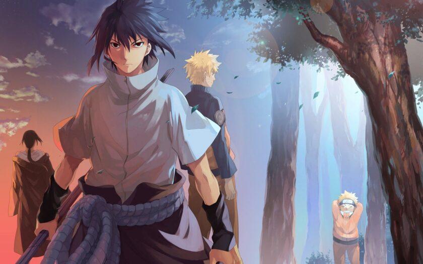 Hình ảnh Sasuke và Naruto đẹp nhất