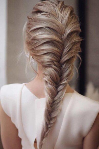 hình ảnh tóc dài tế đuôi sam đẹp