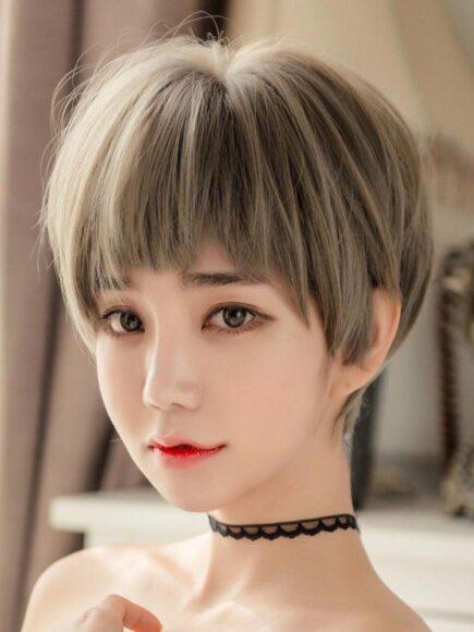 hình ảnh tóc tém dễ thương