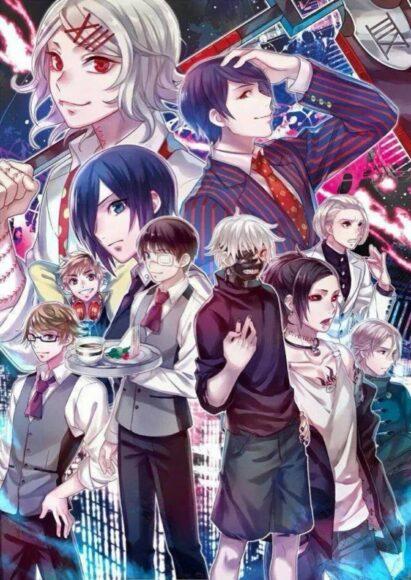 Hình ảnh Tokyo Ghoul đầy đủ các nhân vật
