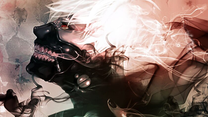 Hình ảnh Tokyo Ghoul làm nền máy tính