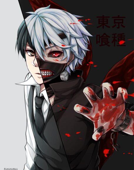 Hình ảnh Tokyo Ghoul ngầu nhất