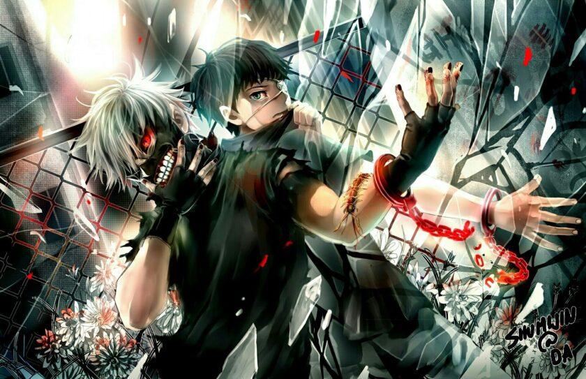 Hình ảnh Toyo Ghoul chiến đấu