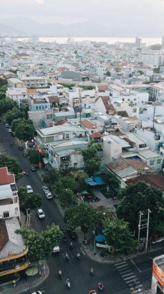 ảnh một con đường quận Hải Châu Đà Nẵng