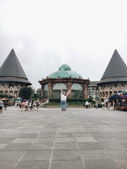 ảnh một góc khác tại khu du lịch Bà Nà Hills Đà Nẵng