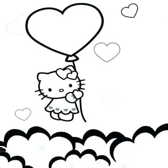 Ảnh tập tô Hello Kitty