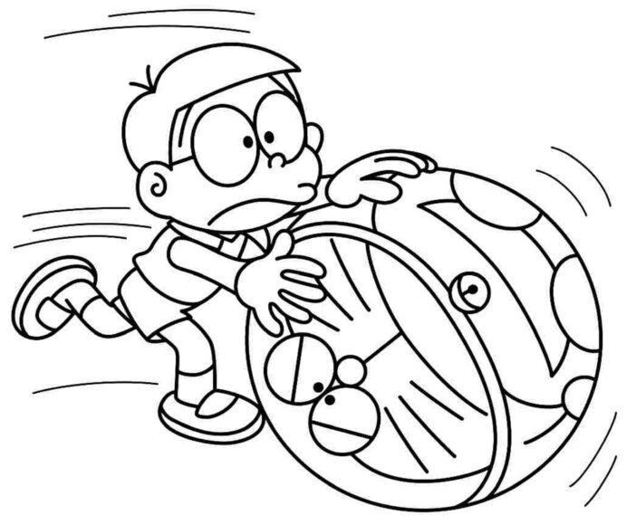 Ảnh tập tô Nobita