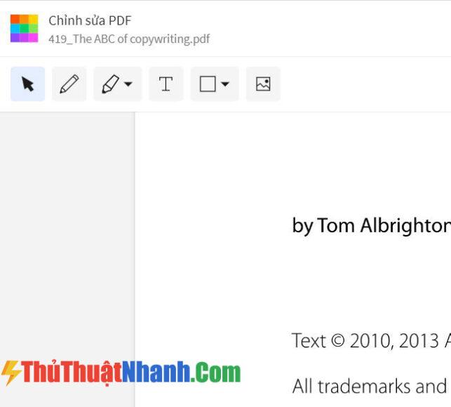 Cách chỉnh sửa file PDF bằng SmallPDF 2