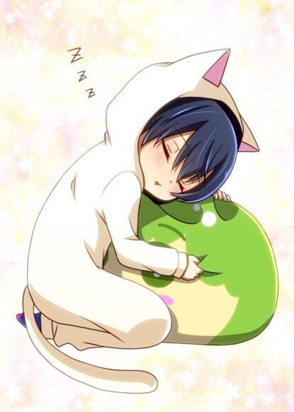 hình ảnh chúc ngủ ngon kute chibi dễ thương