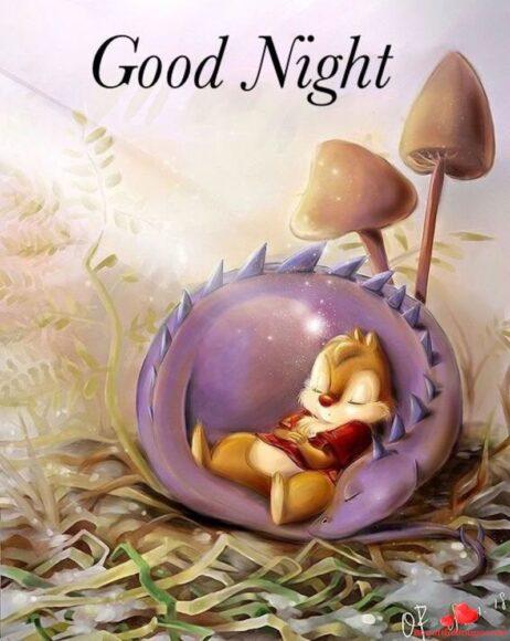 hình ảnh chúc ngủ ngon kute dễ thương đáng yêu