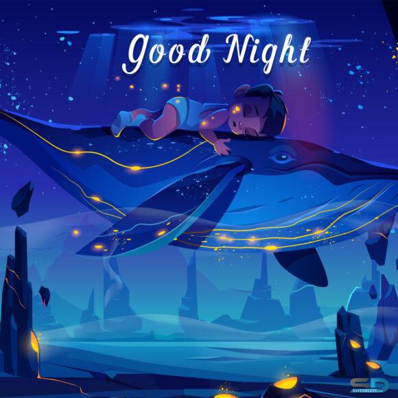 hình ảnh chúc ngủ ngon kute fanart đẹp