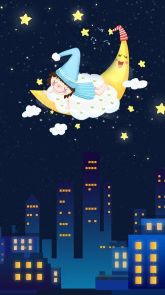 hình ảnh chúc ngủ ngon kute fantasy