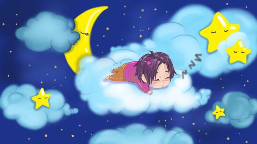 hình ảnh chúc ngủ ngon kute hoạt hình đẹp