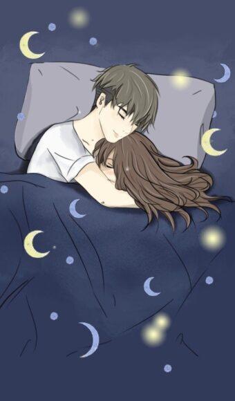 hình ảnh chúc ngủ ngon kute lãng mạn