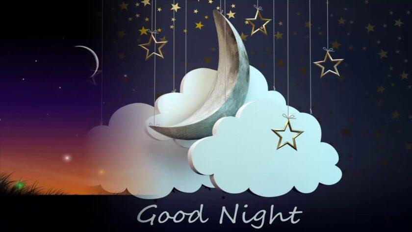 hình ảnh chúc ngủ ngon kute màn đêm đẹp nhất