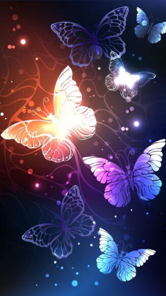 hình ảnh con bướm đẹp nhiều màu