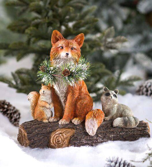 hình ảnh con cáo mô hình trang trí