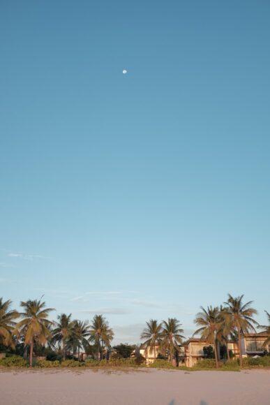 hình ảnh một bãi biển tại khu du lịch ở thành phố Đà Nẵng