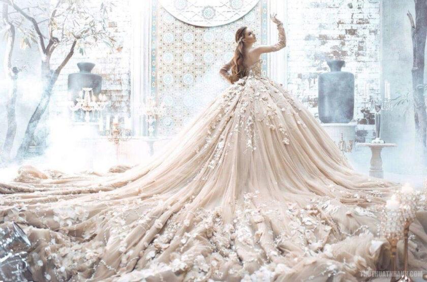hình ảnh váy cưới đắt nhất thế giới