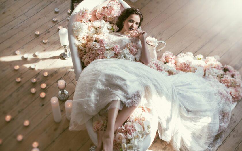 hình ảnh váy cưới đẹp quý phái nhất