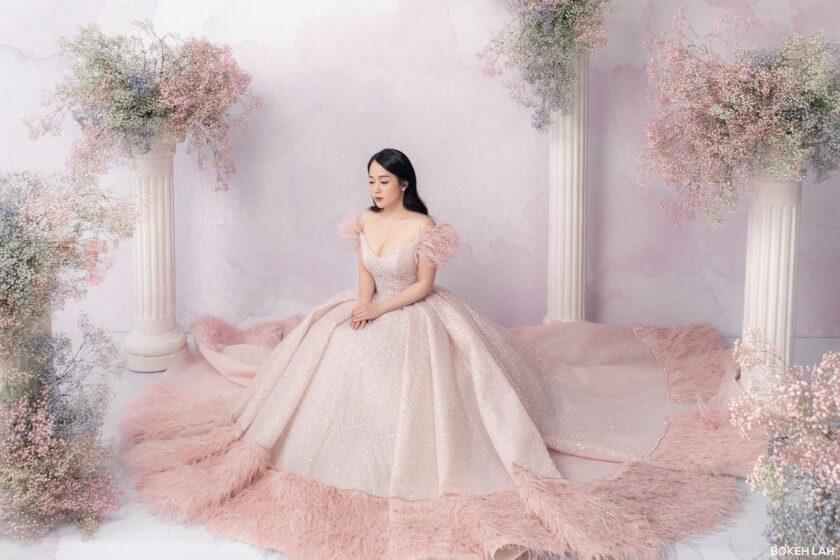 hình ảnh váy cưới đơn giản đẹp nhất
