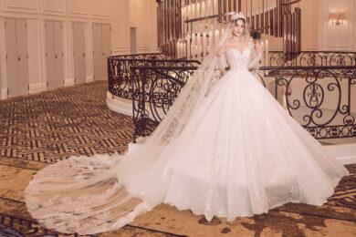 hình ảnh váy cưới sang trọng nhất