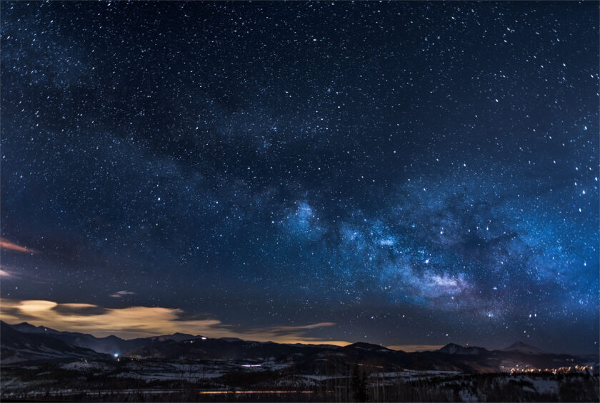 hình nền 4k bầu trời sao lung linh