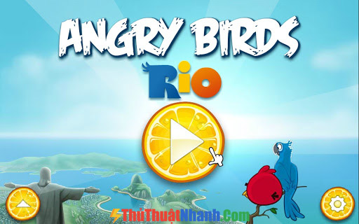 Top game mobile hay nhất 2020 Angry Birds Rio