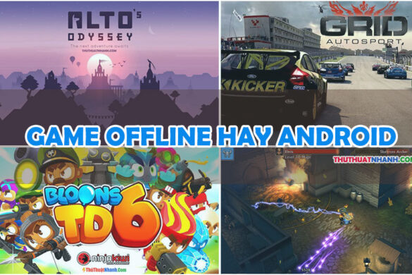 top game offline hay điện thoại android