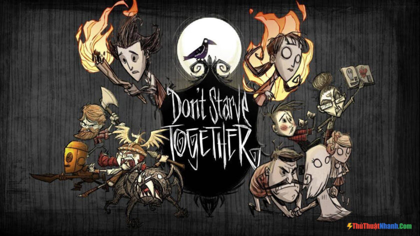 Top game sinh tồn PC - Don't Starve (Don't Starve Together)