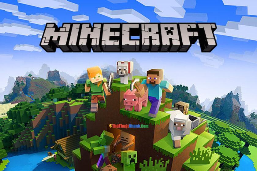 Top game sinh tồn PC - Minecraft